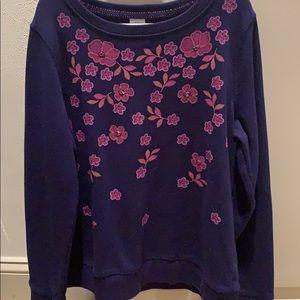 Sweatshirt/blouse